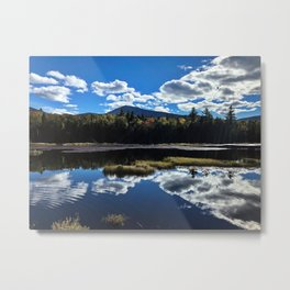 Fall Reflections at Sugarloaf Metal Print