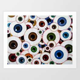 All Eyes On Me Art Print