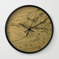 Swamis Sketch Wall Clock