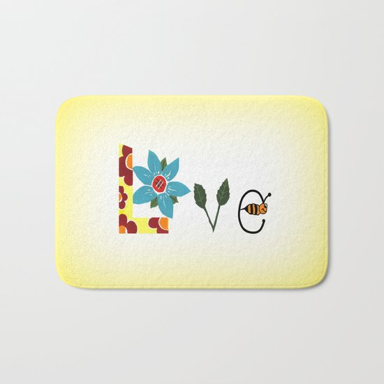 Bee Mine Bath Mat