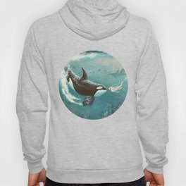 Underwater Love at First Sight Hoody