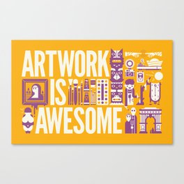 Artwork is ... Canvas Print