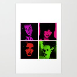 Let it Creep Art Print