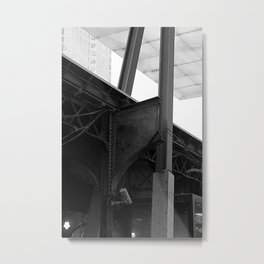 Old Iron at Union Station Metal Print