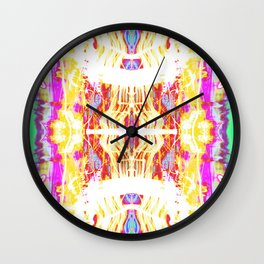 Fire Pipes Wall Clock