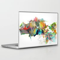 street art Laptop & iPad Skins featuring Dream Theory by Archan Nair