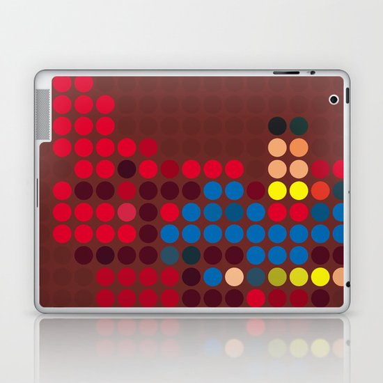 Mr Super Laptop & iPad Skin