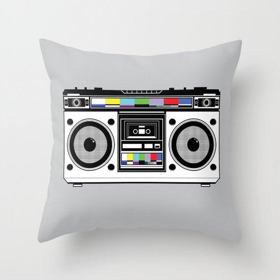 1 kHz #8 Throw Pillow