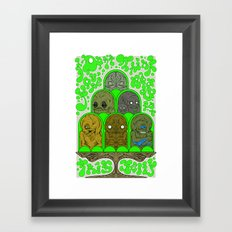 I Don't Think You're Ready for This Jelly Framed Art Print