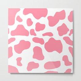 Strawberry cow Metal Print
