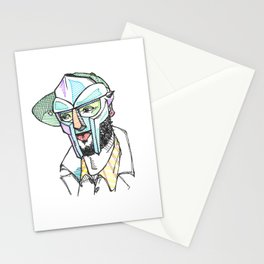 The Rapper-a-day Project | Day 9: MF DOOM Stationery Cards