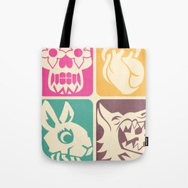 FEEDING GROUND 4 Icons Tote Bag