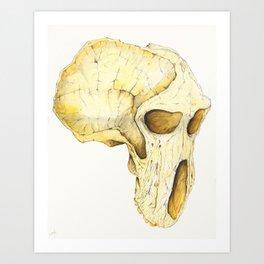 Africalopithecus Art Print