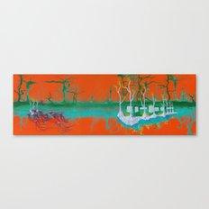 Underwater Space Station Canvas Print