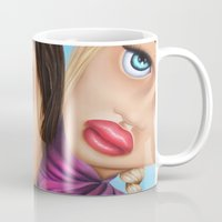 sisters Mugs featuring Sisters by shue cane