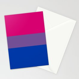 Bisexual Pride Flag LGBTQ Bi Pride Stationery Cards