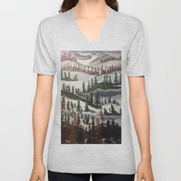 Death & Rebirth of Autumn Unisex V-Neck