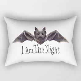 I Am The Night Rectangular Pillow
