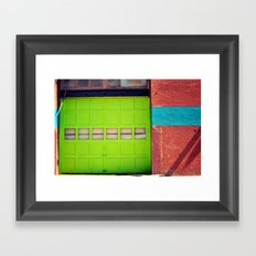 Loading Bay Framed Art Print