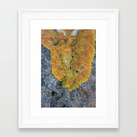 blanket Framed Art Prints featuring Blanket by GingerLeaf