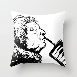 Eyeless Throw Pillow