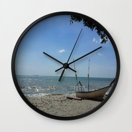 JUST ANOTHER BEAUTIFUL DAY Wall Clock