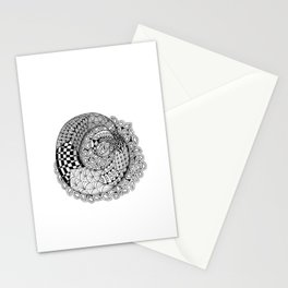 Mobius Twist Stationery Cards