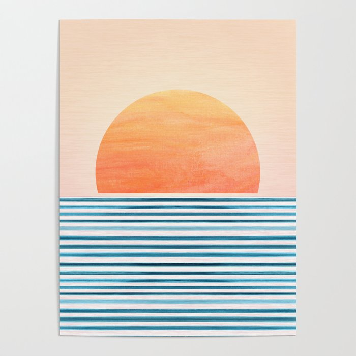 Morning in Paradise ~ Tropical Sunrise Poster