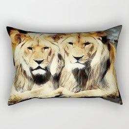 lion's harmoni Rectangular Pillow