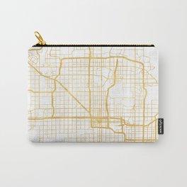 PHOENIX ARIZONA CITY STREET MAP ART Carry-All Pouch