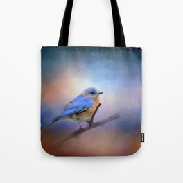 The Happiest Blue - Bluebird Tote Bag