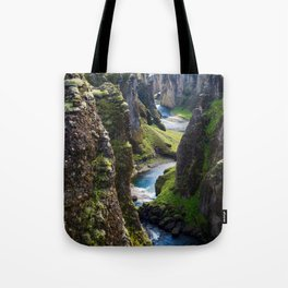 Icelandic Canyon Tote Bag