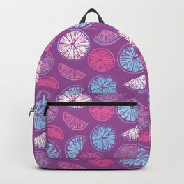 Citrus Wheels - Plum and Berry Backpack