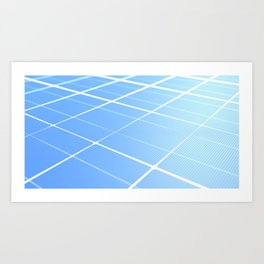 Solar Cellurar Art Print