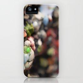 A Work of Art Bubblegum Alley iPhone Case