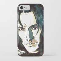 snape iPhone & iPod Cases featuring Professer Snape by Boni Dutch