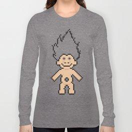 8bit troll Long Sleeve T-shirt
