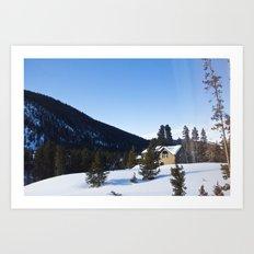 Colorado Morning Art Print