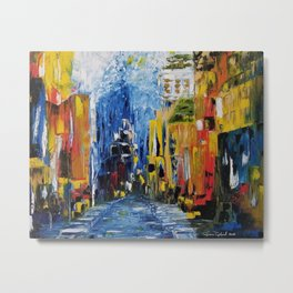 City of Colors, NYC Art, New York Art, NYC city scene, city scape Metal Print