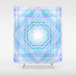 11 E=BlurrySpiritual Shower Curtain