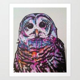 Something like an Owl Art Print