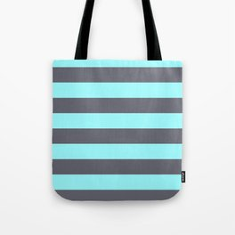 iceblue and gray Tote Bag