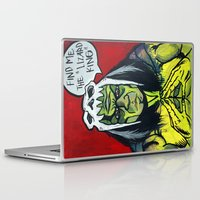 medicine Laptop & iPad Skins featuring Medicine Man by Hugo Maldonado