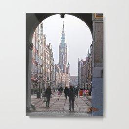 Gdansk Metal Print