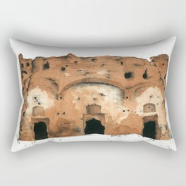Ruin Rectangular Pillow