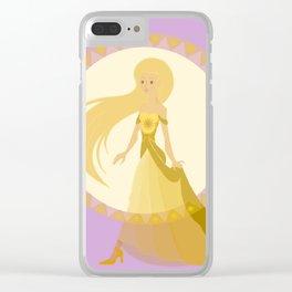 Jaune Clear iPhone Case