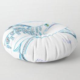 Tiger Shark II Floor Pillow