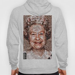 BEHIND THE FACE Queen Elizabeth | drunk and pregnant girls Hoody