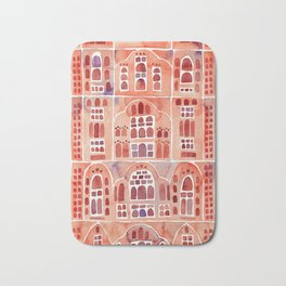 Hawa Mahal – Palace of the Winds in Jaipur, India Bath Mat