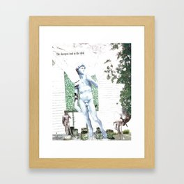 The Sharpest Tool in the Shed Framed Art Print